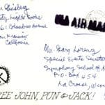 Allen Ginsberg Autographed Letter Signed.