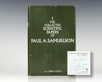 The Collected Scientific Papers of Paul A. Samuelson. Volumes I.
