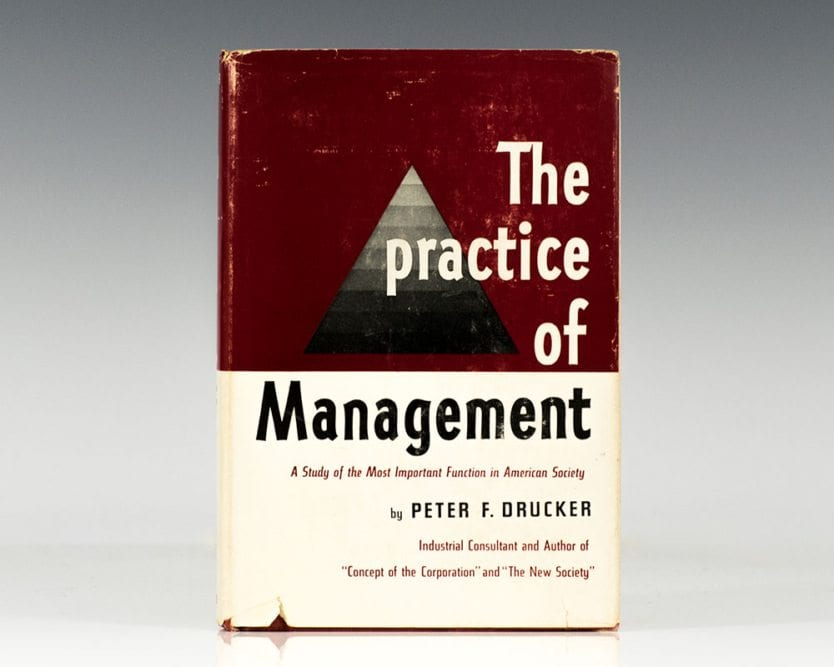 The Practice of Management.