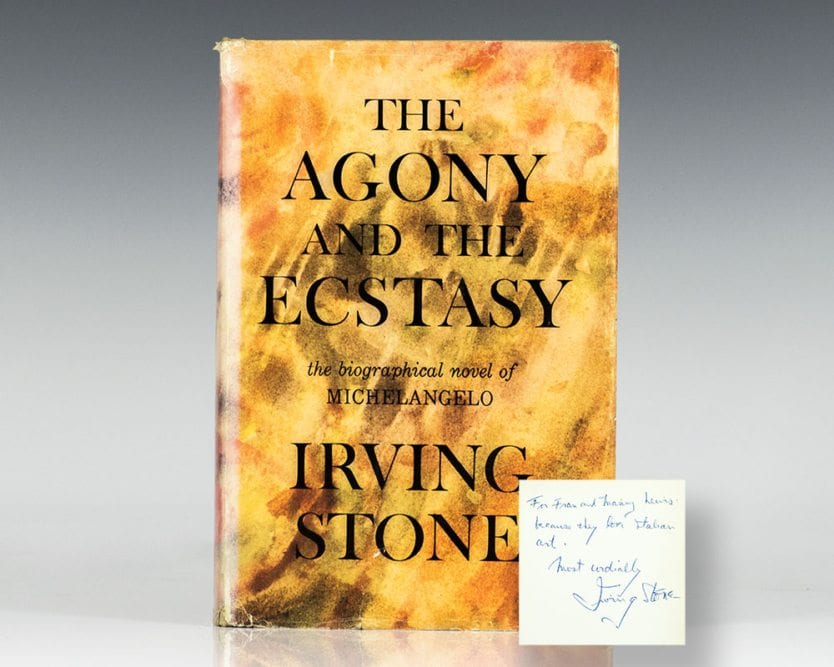 Agony and Ecstasy: A Biographical Novel of Michelangelo.