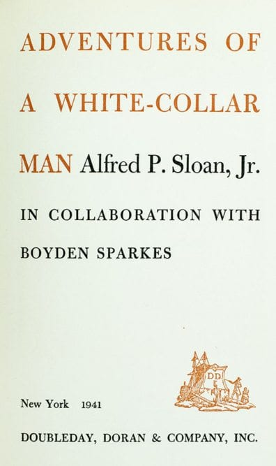 Adventures of a White-Collar Man.