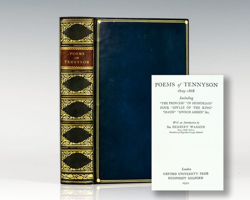 Poems of Tennyson, 1829-1868: Including The Princess, In Memoriam, Four, Idylls of the King, Maud, Enoch Arden, Etc.