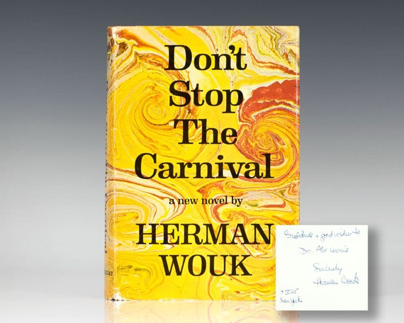Don't Stop the Carnival.