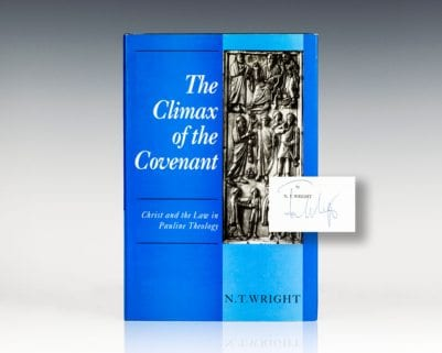 The Climax of the Covenant: Christ and the Law in Pauline Theology.
