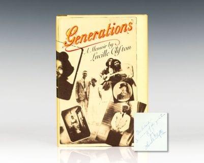 Generations: A Memoir.