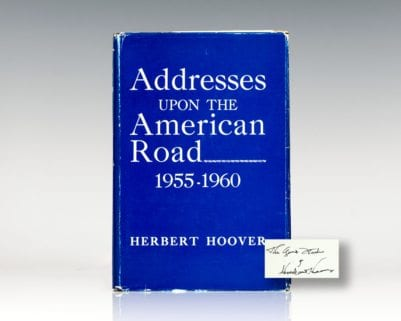 Addresses upon the American Road 1955-1960.
