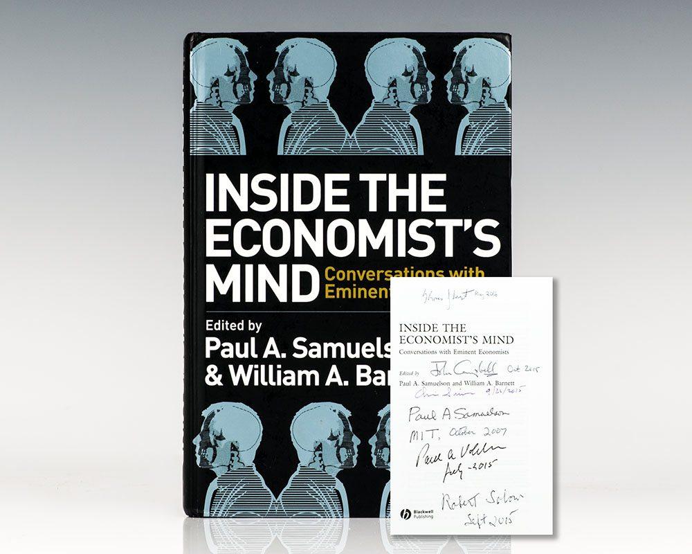 Inside the Economist's Mind: Conversations with Eminent Economists.