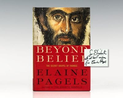 Beyond Belief: The Secret Gospel of Thomas.