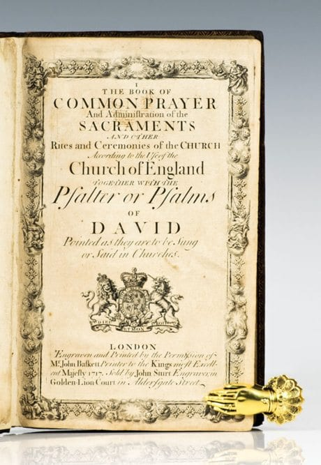 The Book of Common Prayer and Administration of the Sacraments.