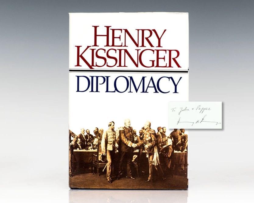 Diplomacy.