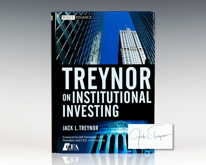 Treynor on Institutional Investing.