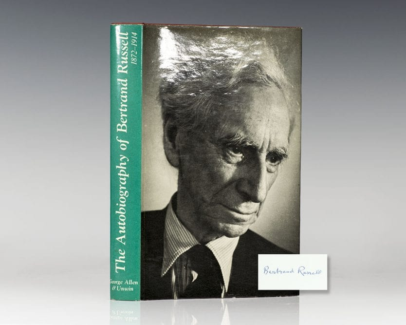 The Autobiography of Bertrand Russell: 1872-1914.