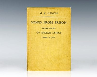 Songs from Prison: Translations of Indian lyrics Made in Jail.