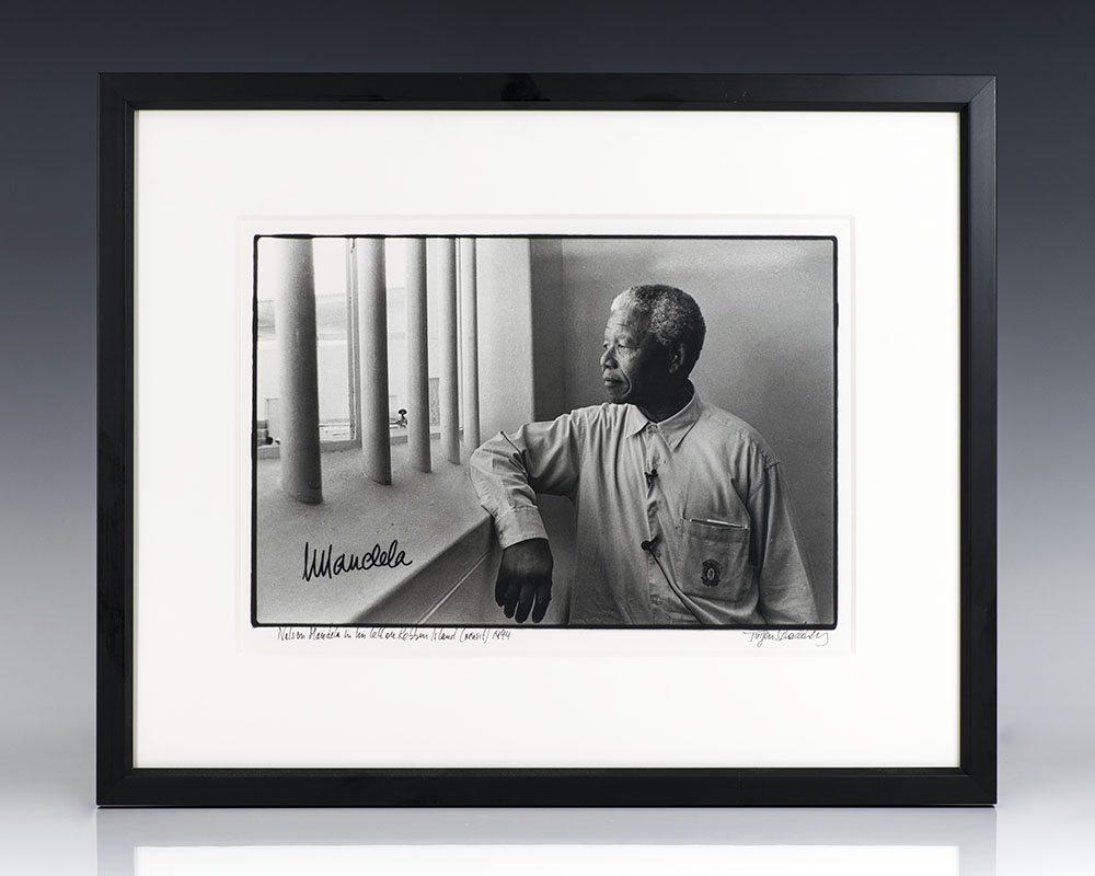 Nelson Mandela Silver Gelatin Print.