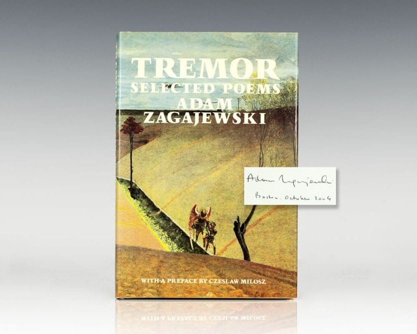 Tremor: Selected Poems.