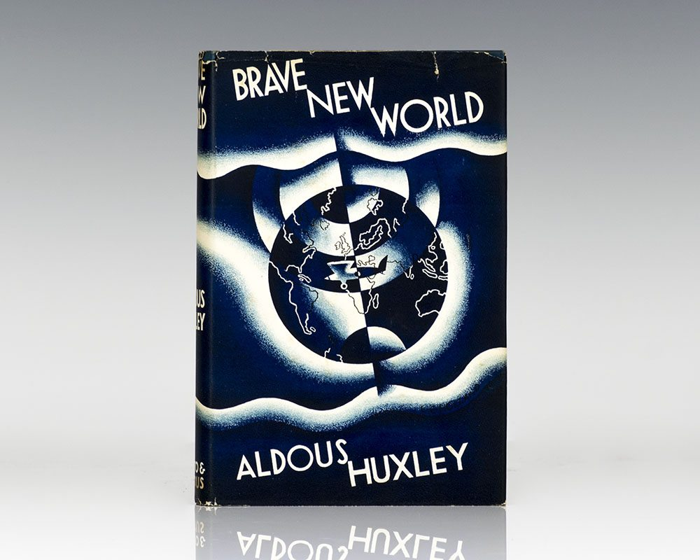 the use of literary devices in the novel brave new world by aldous huxley Free study guide: brave new world by aldous huxley - free  literary  elements setting london is the primary setting for the novel.