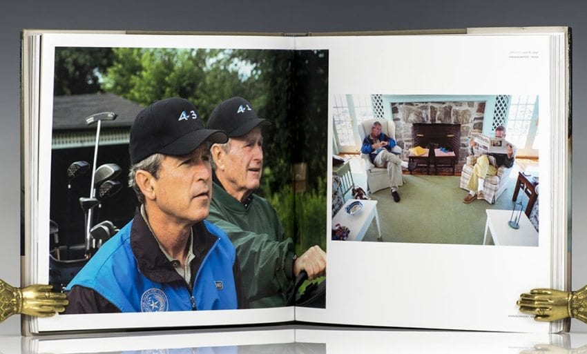Front Row Seat: A Photographic Portrait of the Presidency of George W. Bush.