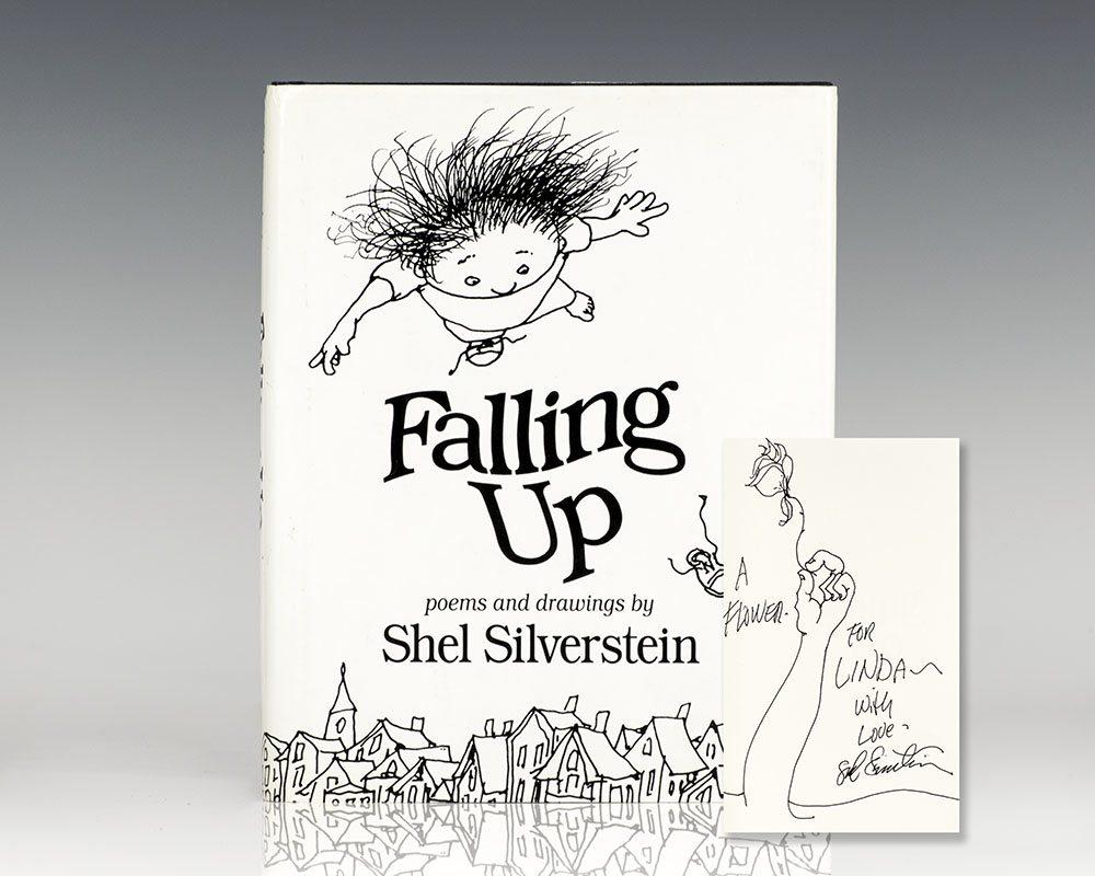 Shel Silverstein Death: Falling Up Shel Silverstein First Edition Signed
