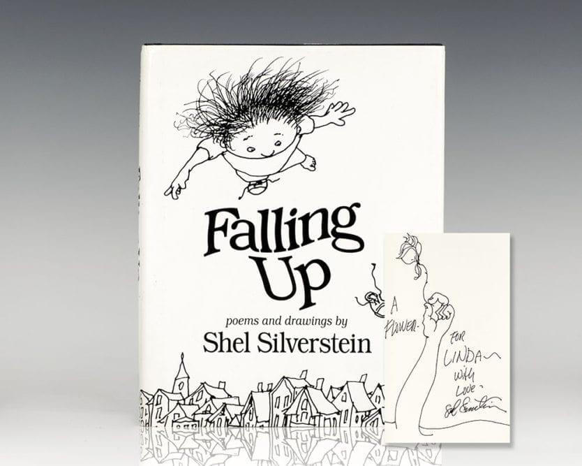 The Voice By Shel Silverstein: Falling Up Shel Silverstein First Edition Signed