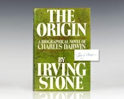 The Origin: A Biographical Novel of Charles Darwin.