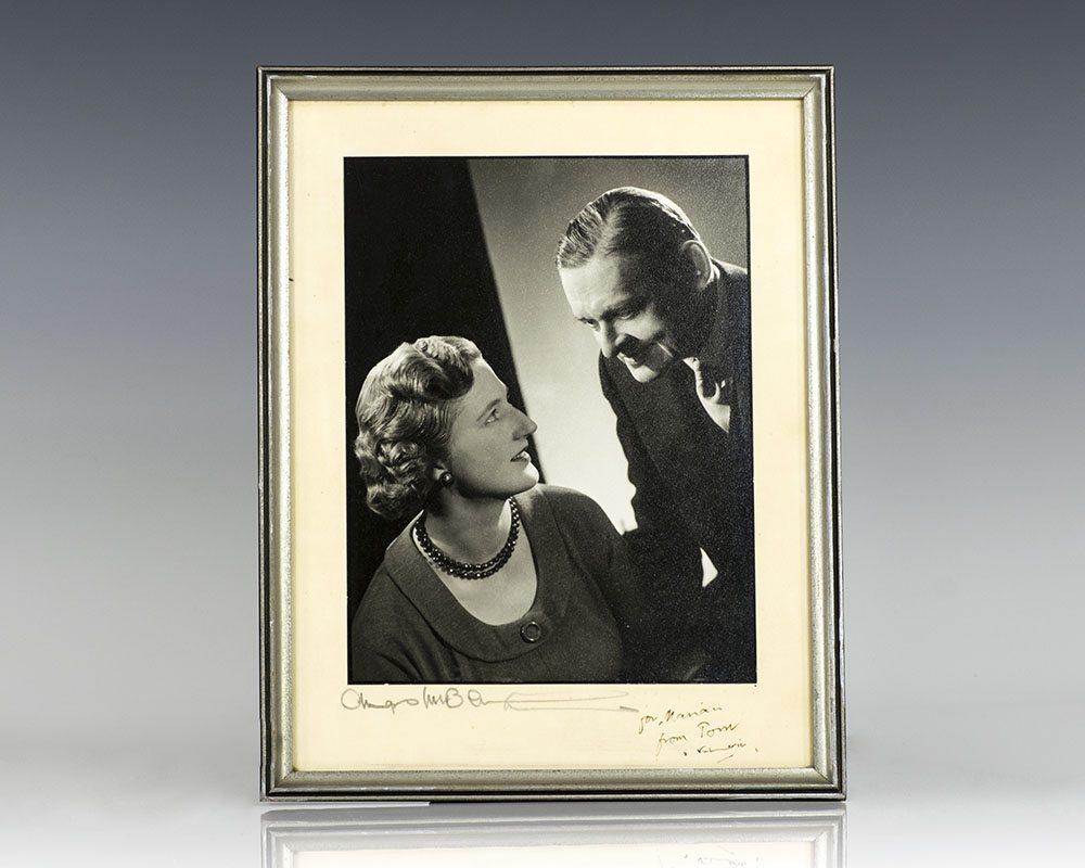 T.S. Eliot Signed Photograph.
