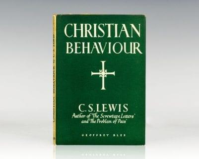 Christian Behaviour.