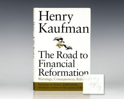 The Road to Financial Reformation: Warnings, Consequences, Reforms.