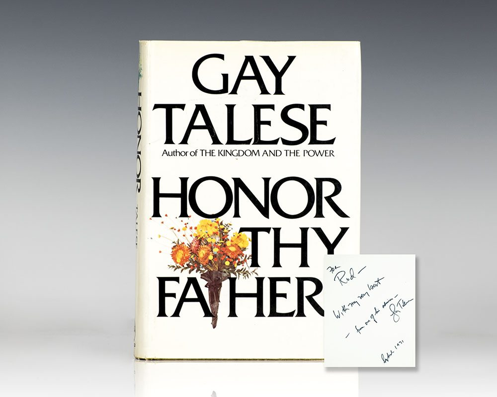 Honor Thy Father.