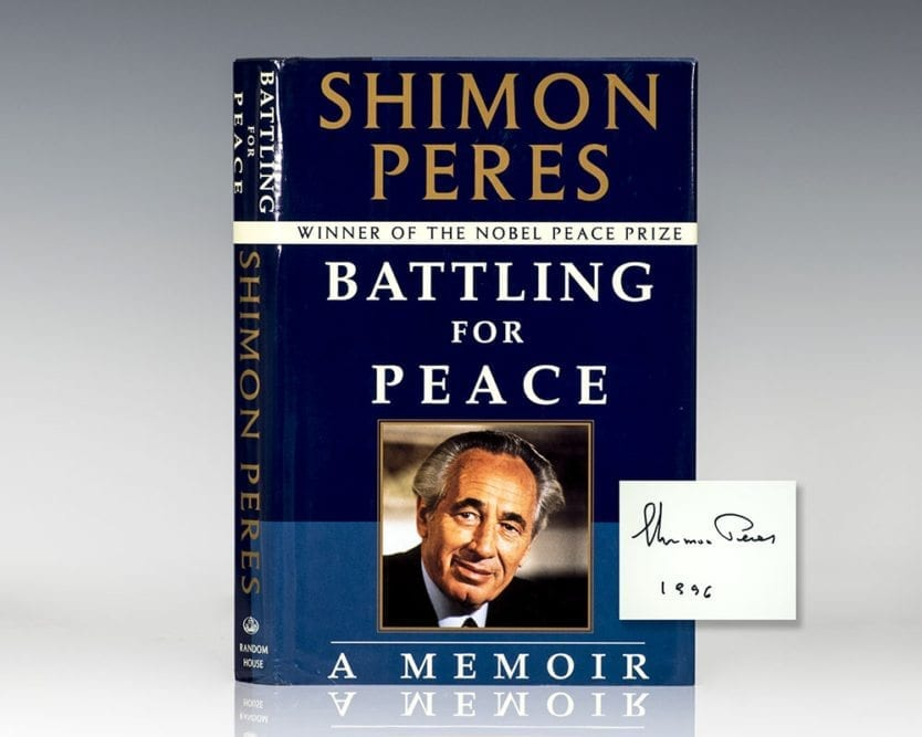 Battling For Peace: A Memoir.