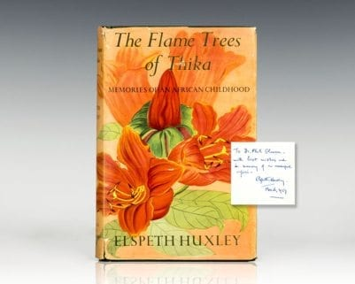 The Flame Trees of Thika: Memories of an African Childhood.