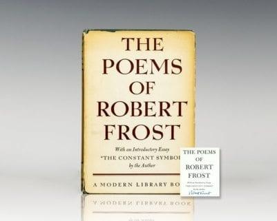 Poems of Robert Frost.