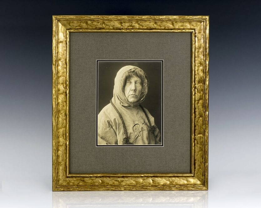 Roald Amundsen Signed Photograph.