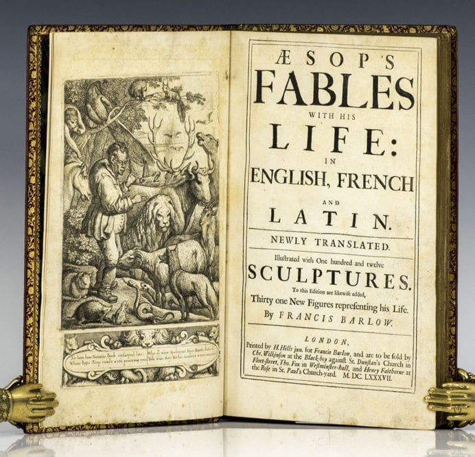 Aesop's Fables With His Life: In English, French, and Latin.