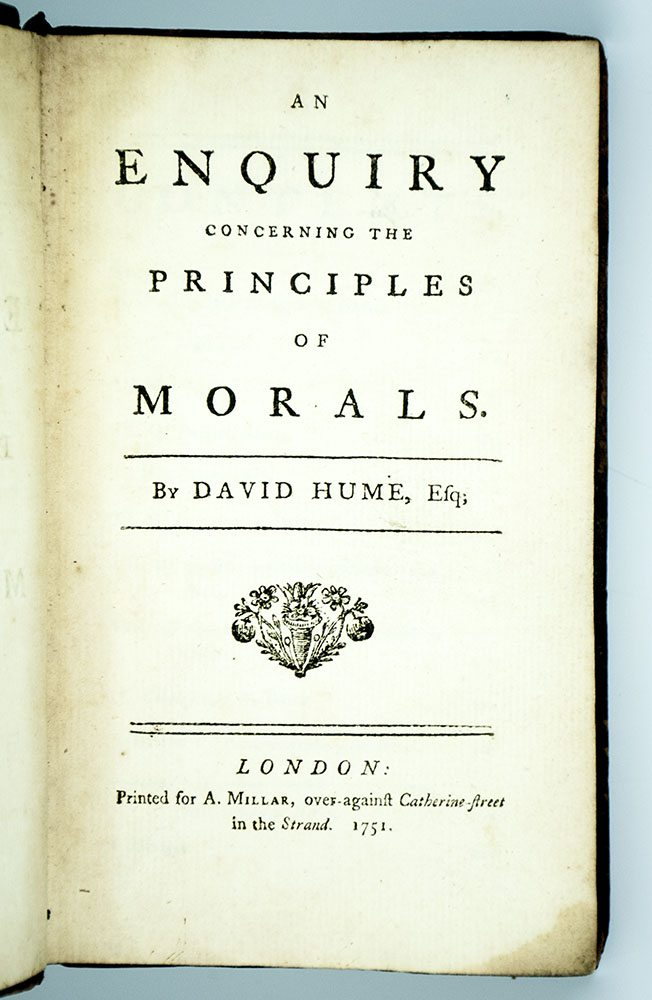 An Enquiry Concerning The Principles of Morals.