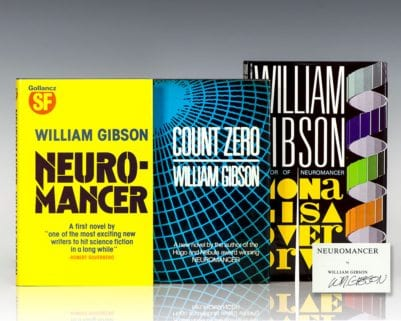 Neuromancer, Count Zero, Mona Lisa Overdrive.