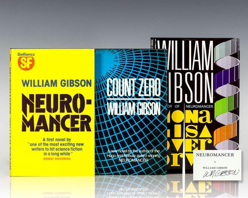 Neuromancer, Count Zero, Mona Lisa Overdrive.