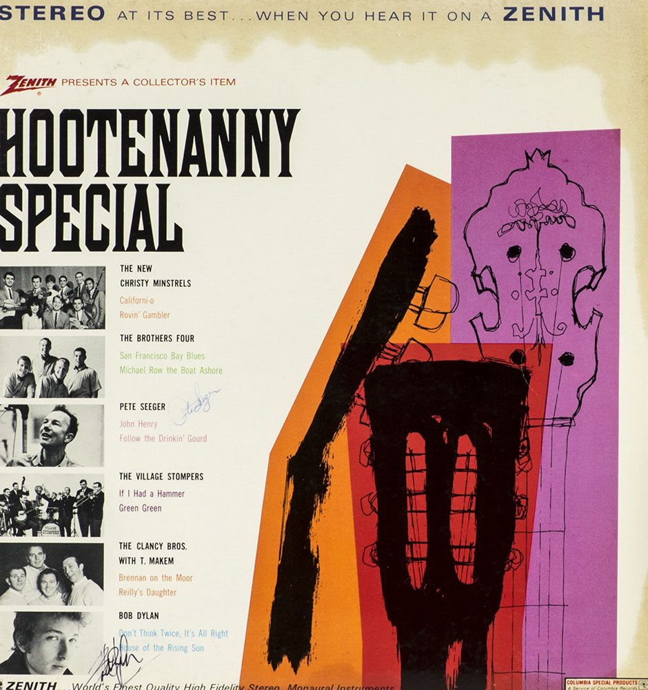 Hootenanny Special: Featuring Bob Dylan and Pete Seeger.