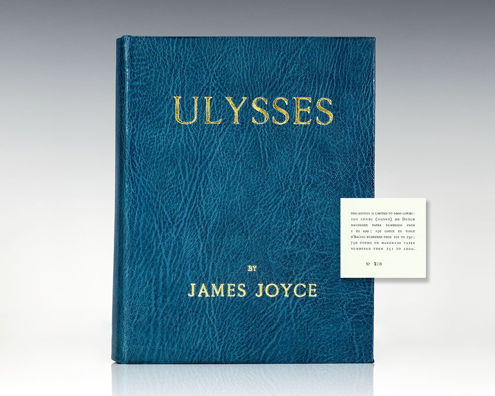 ulysses and joyce — i — / stately, plump buck mulligan came from the stairhead, bearing a bowl of lather on which a mirror and a razor lay crossed a yellow dressinggown, ungirdled, was sustained.