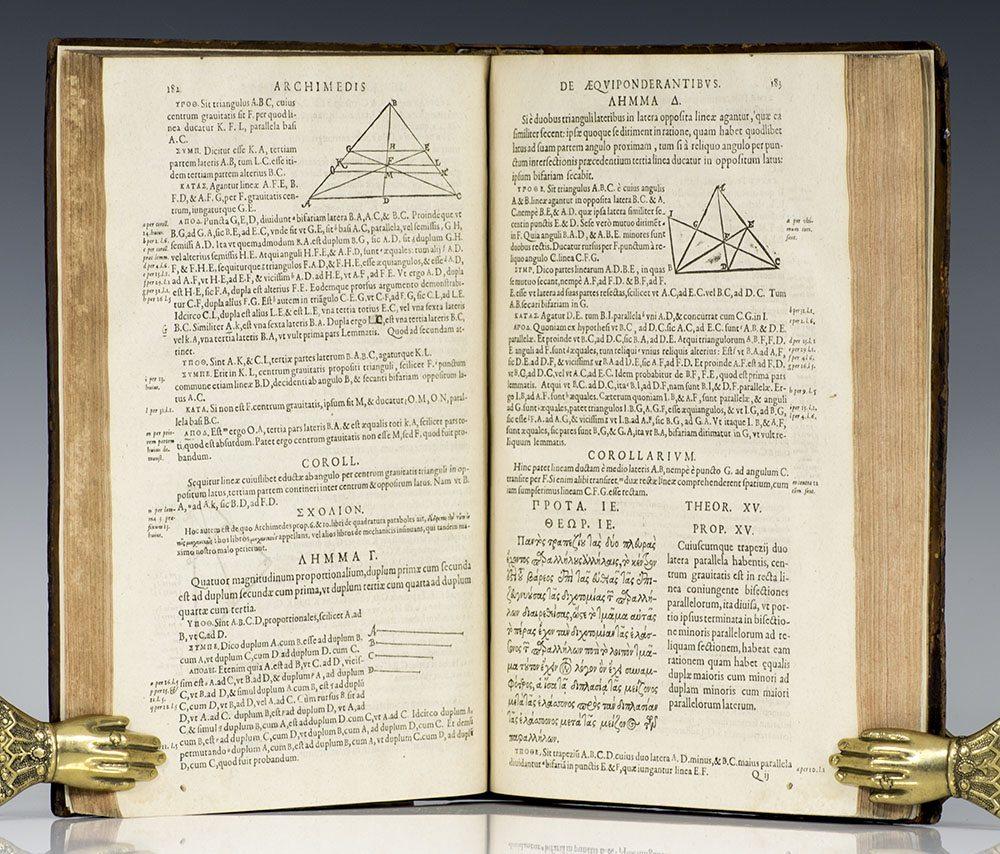 Archimedes. Opera quae extant.
