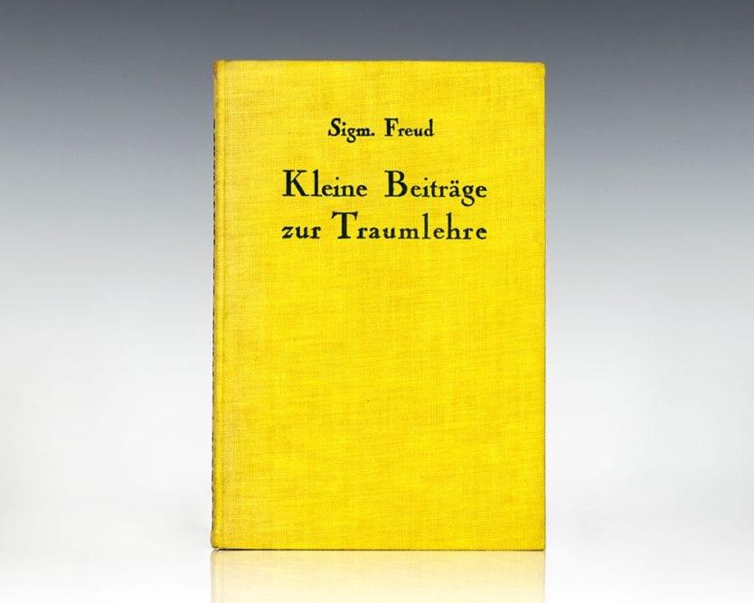 Kleine Beitrage zur Traumlehre (A Small Contribution to Dream Theory).