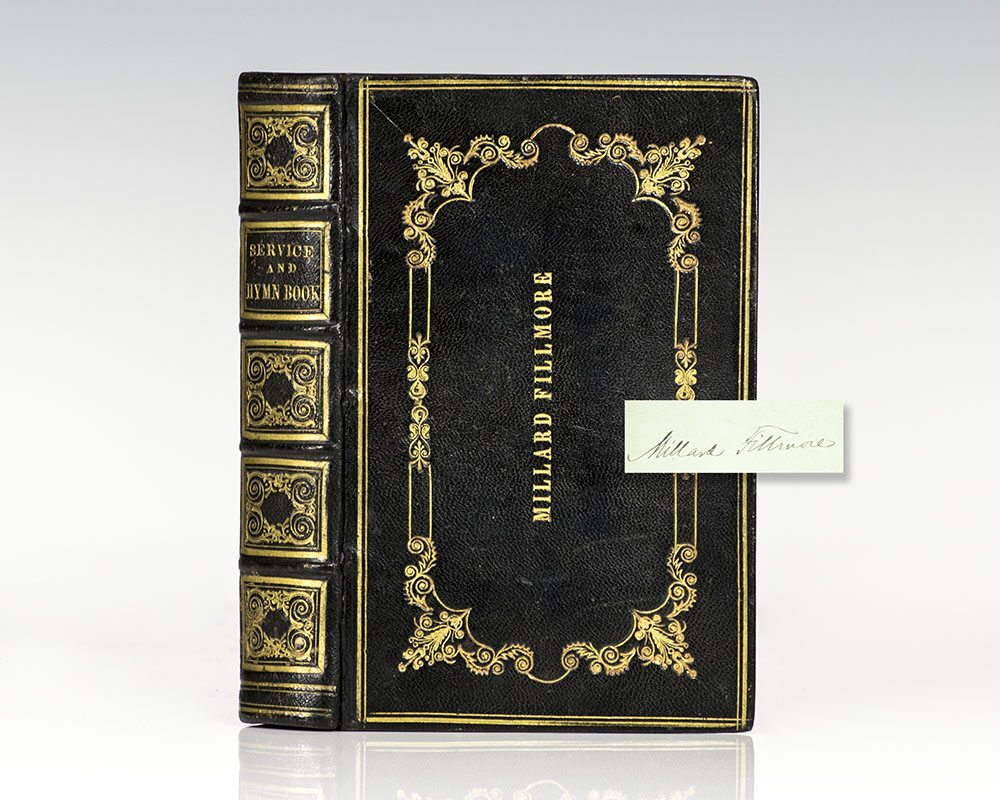 Millard Fillmore Signed Prayerbook.