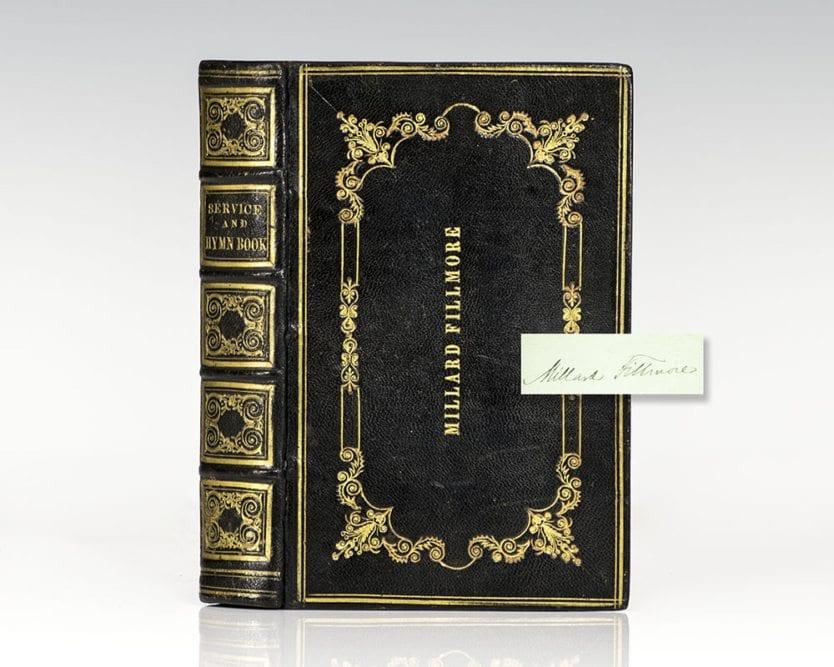 Millard Fillmore Signed Prayerbook.
