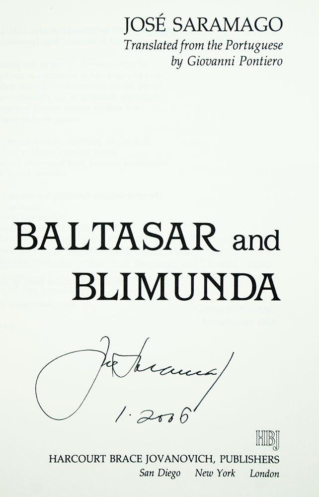 Baltasar and Blimunda.