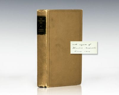 The Strenuous Life. Essays and Addresses by Theodore Roosevelt.