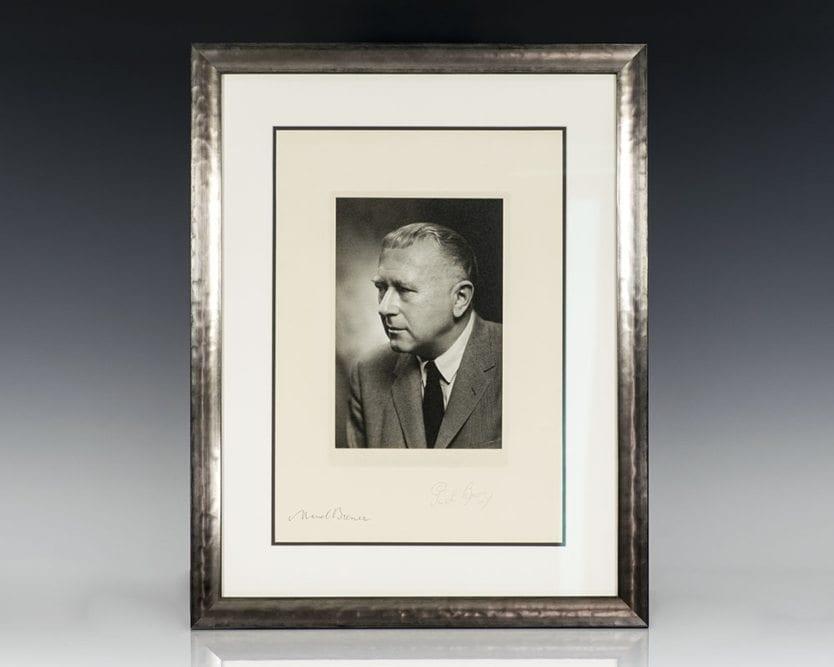 Marcel Breuer Signed Photograph.