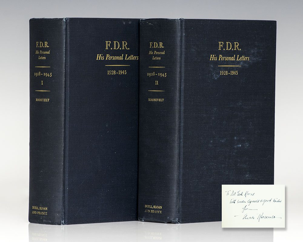 F.D.R. His Personal Letters.