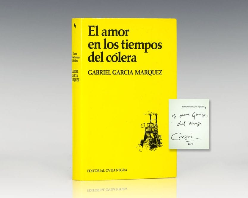 El Amor en los Tiempos del Colera (Love in the Time of Cholera).