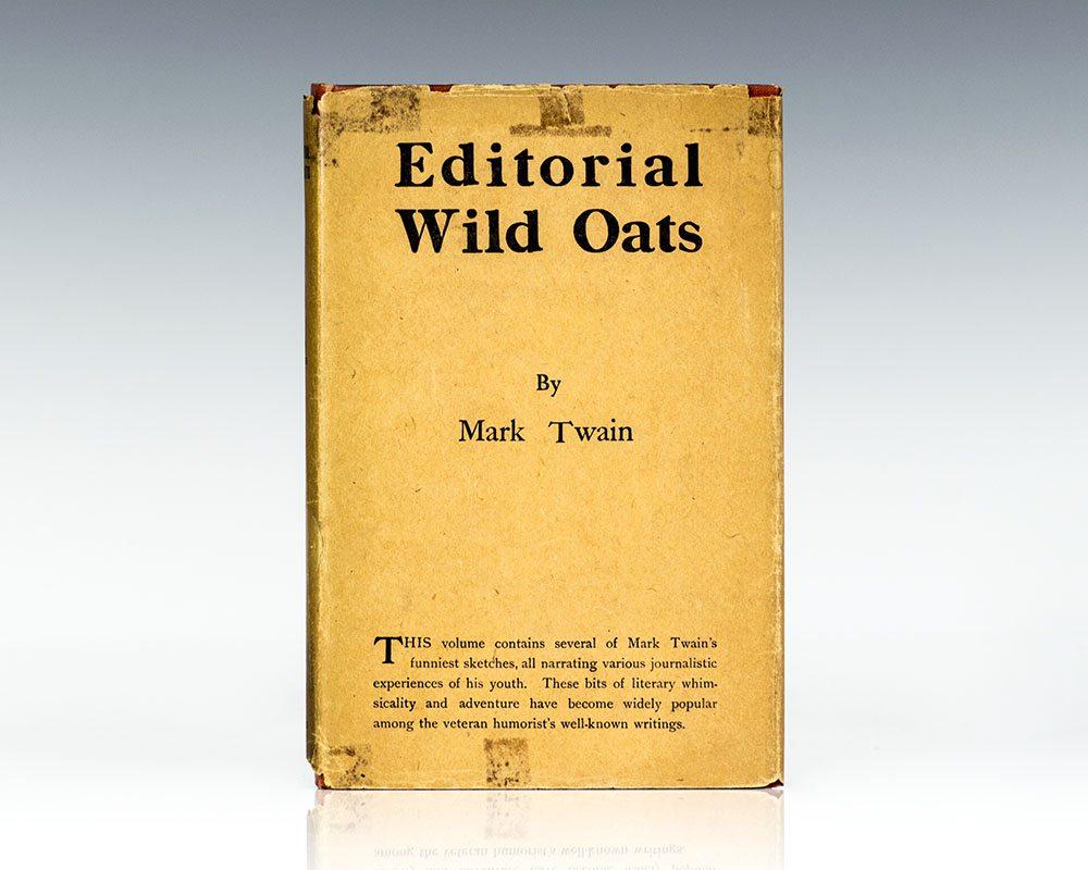 Editorial Wild Oats.