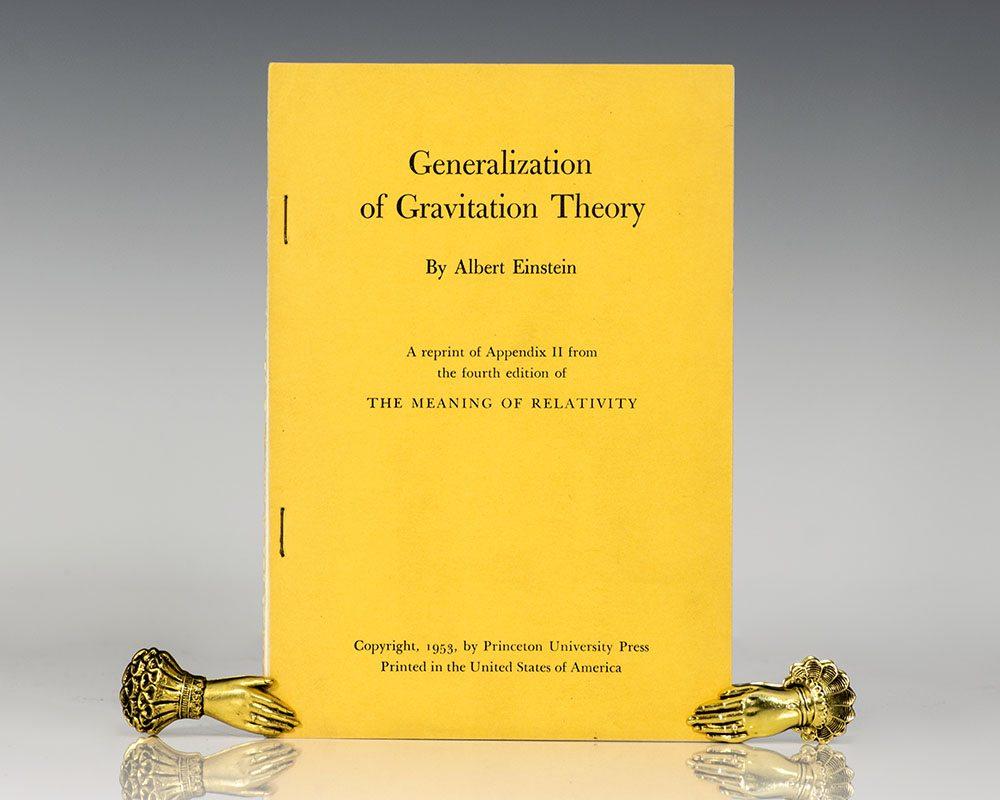 Generalization of Gravitational Theory.