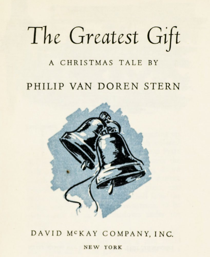 The Greatest Gift It\'s A Wonderful Life Philip Stern First Edition ...